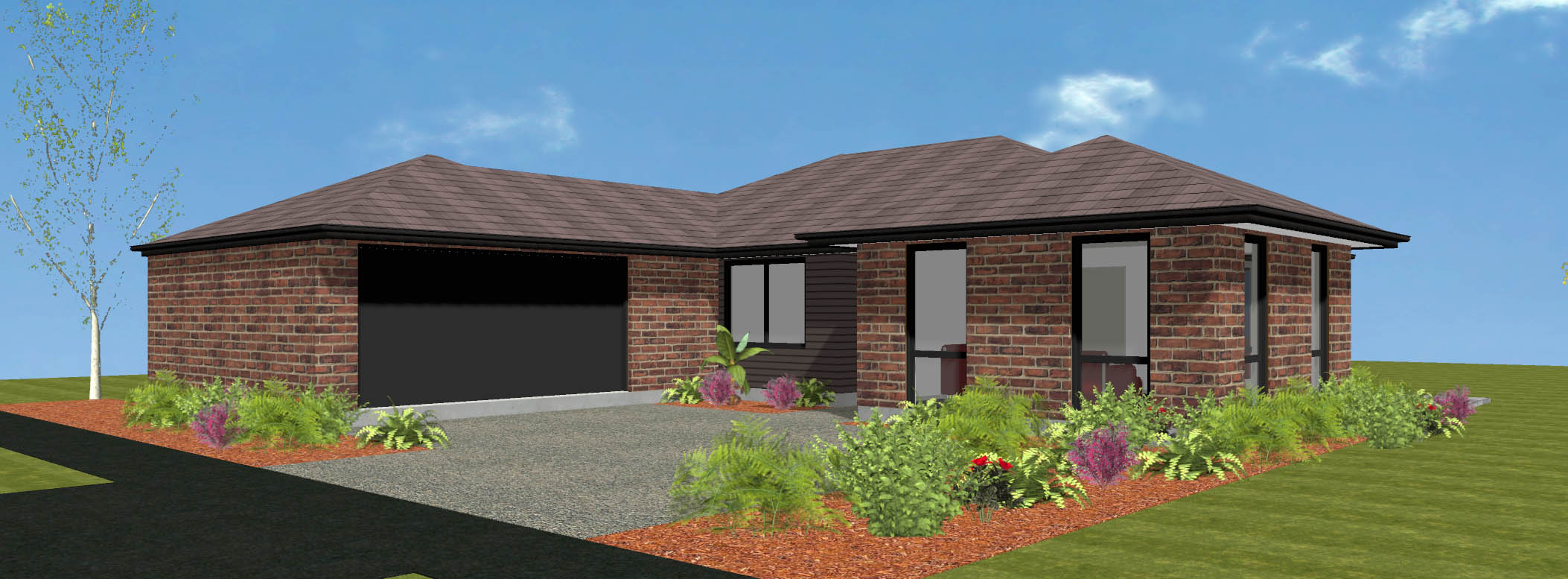 Piha new house plan and design wellington kapiti wairarapa for Wellington house designs