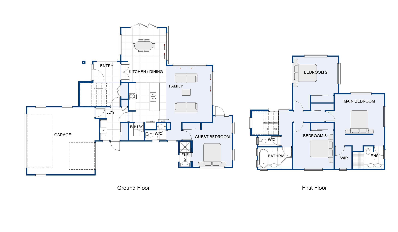 Salisbury new house plan and design wellington kapiti for Home design diamonds
