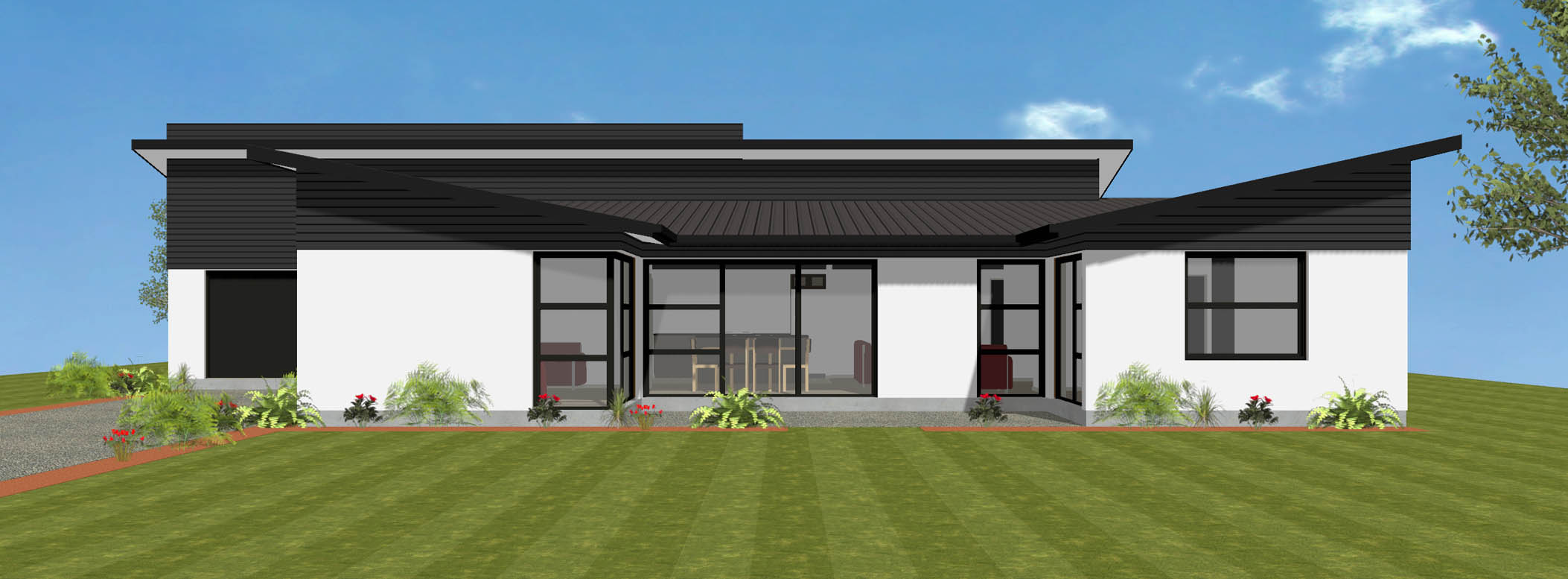Avonmore new house plan and design wellington kapiti for Room design kapiti