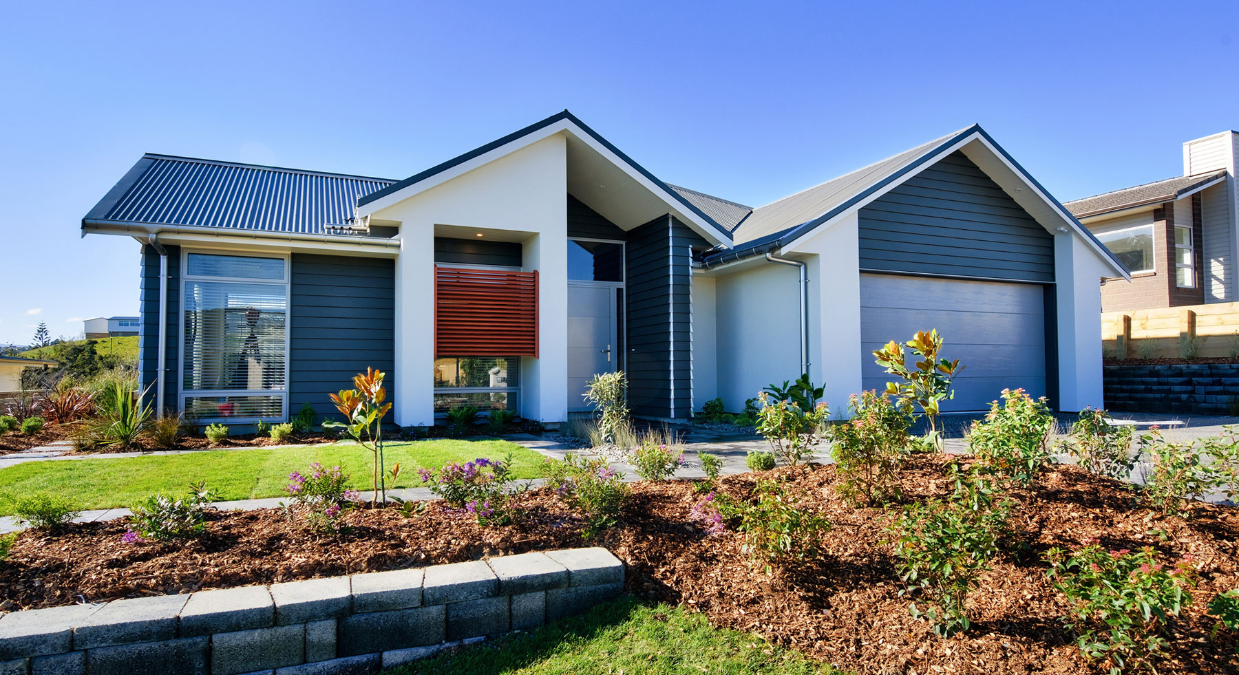 Abode homes new aotea show home porirua and wellington for Wellington house designs