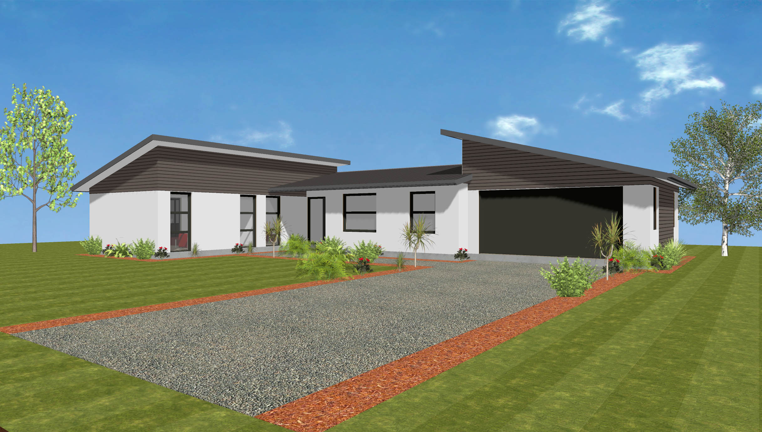 Abode homes single storey homes house plans and for Wellington house designs