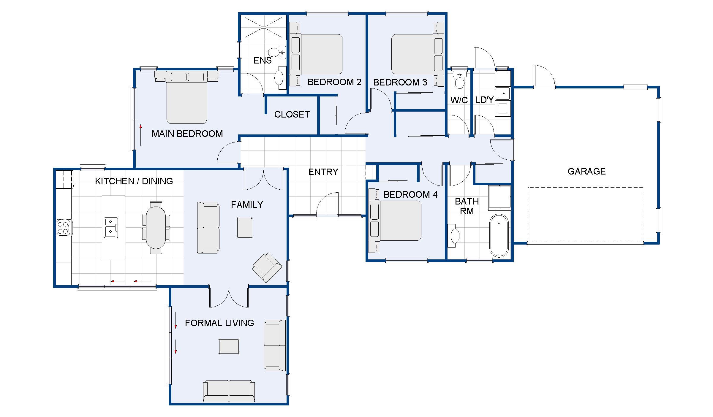 Whitehill new house plan and design wellington kapiti for Home design diamonds