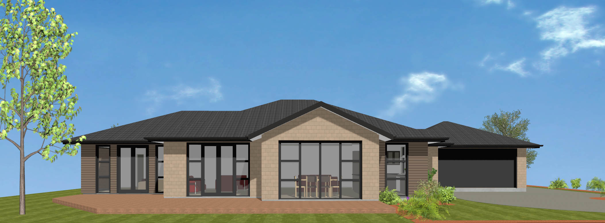 Riverton new house plan and design wellington kapiti for Wellington house designs