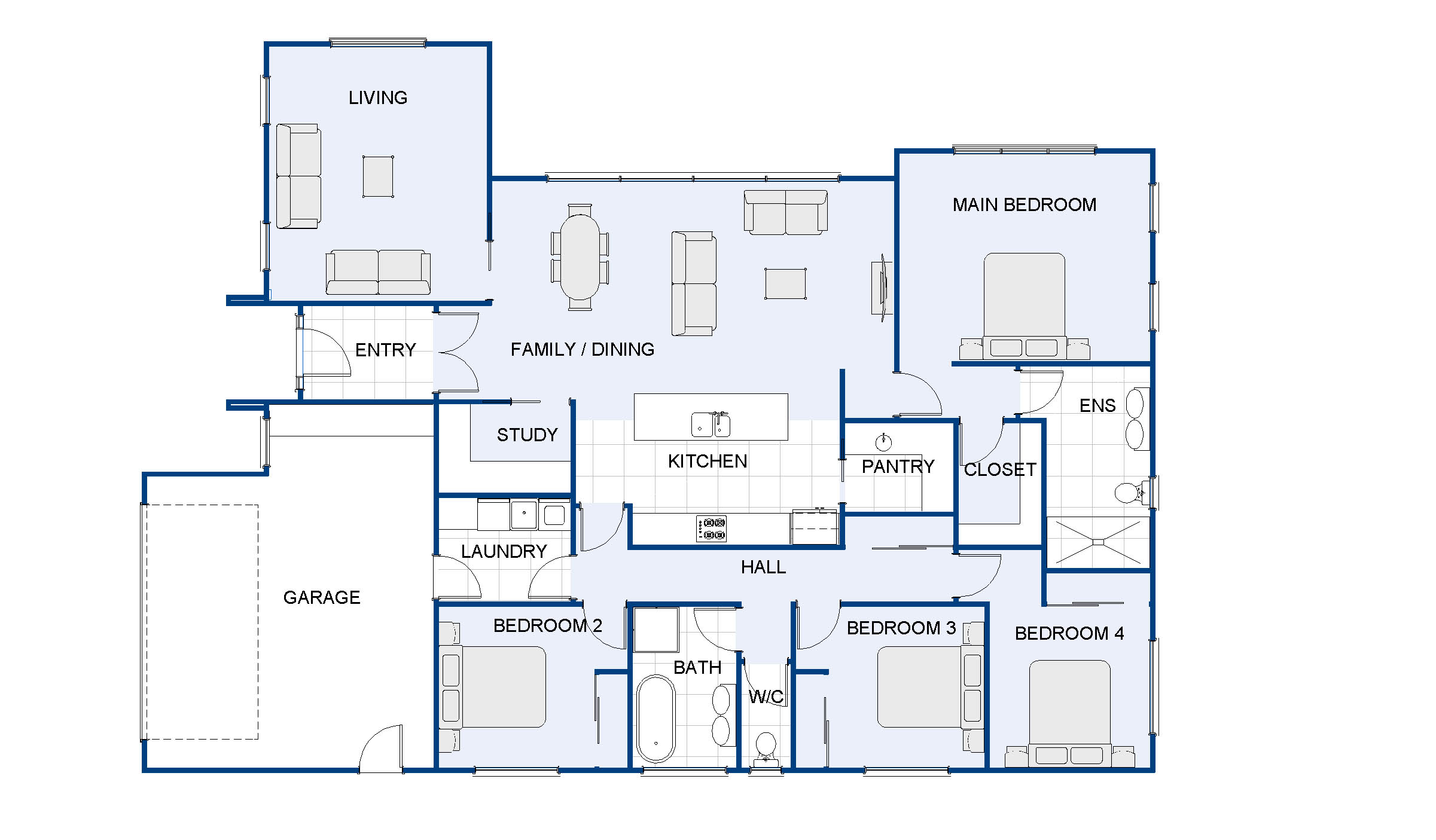 Collingwood new house plan and design wellington kapiti for House plans co