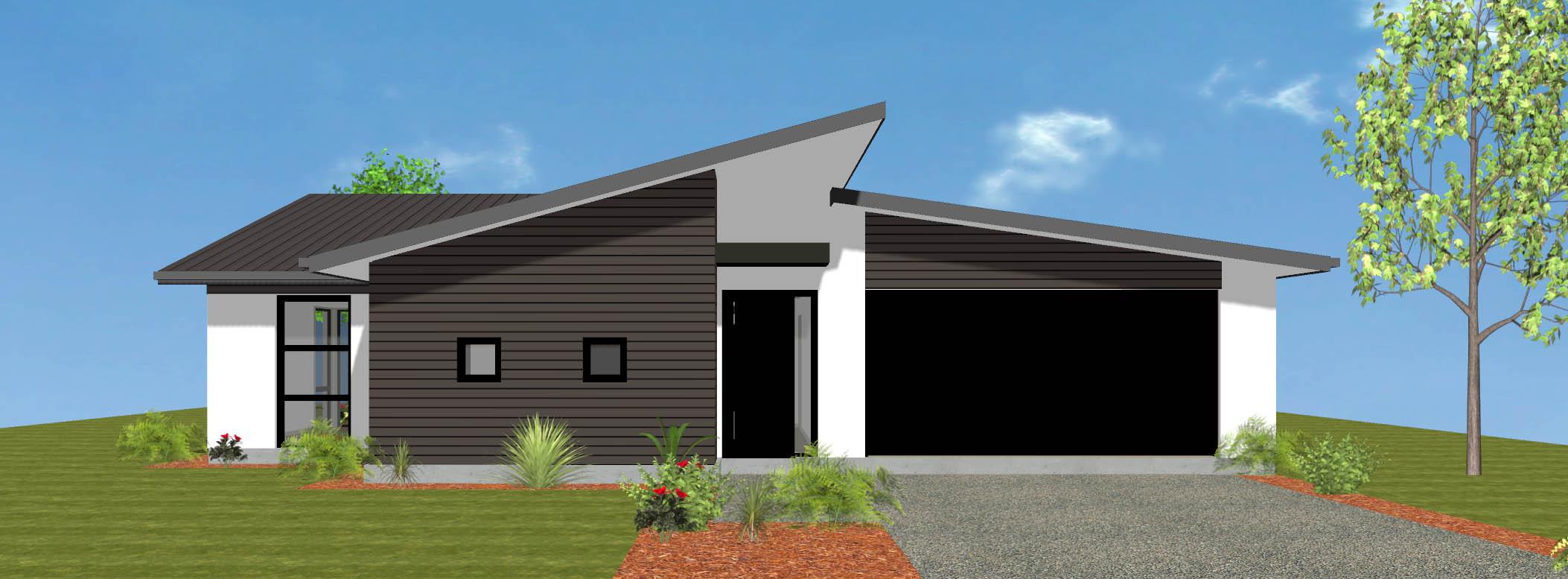 Charleston new house plan and design wellington kapiti for Wellington house designs