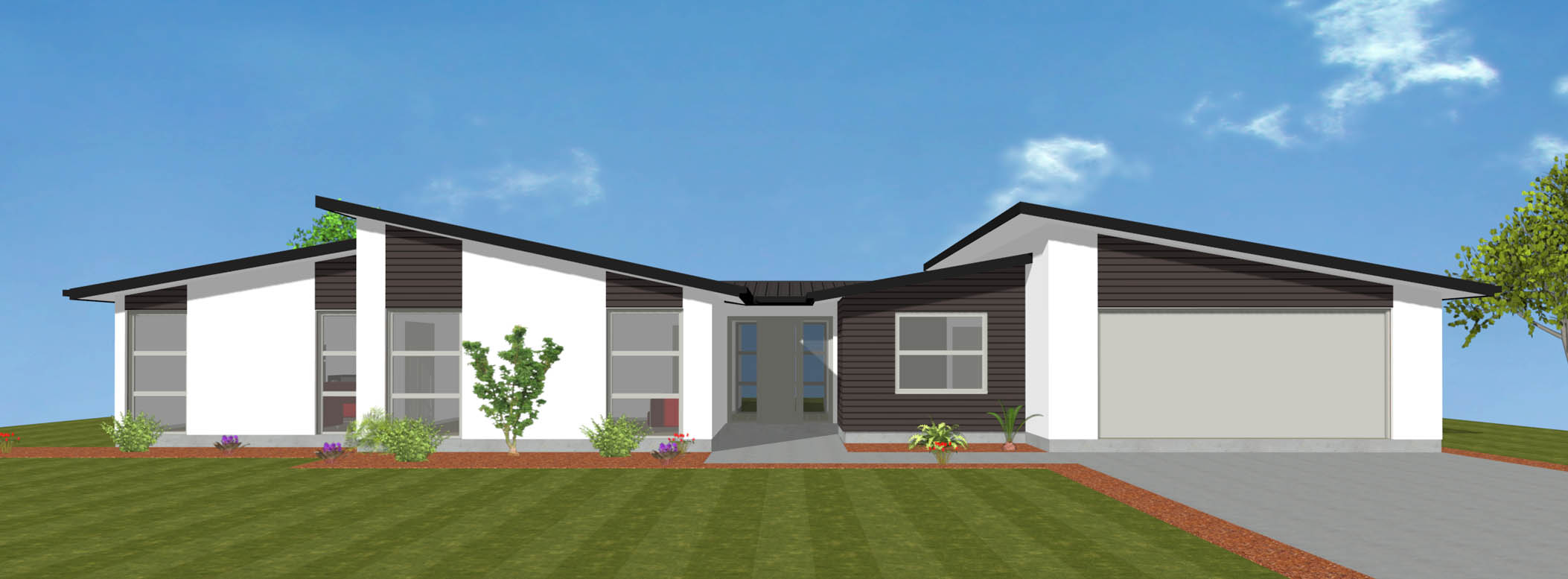 Sunline new house plan and design wellington kapiti for Wellington house designs